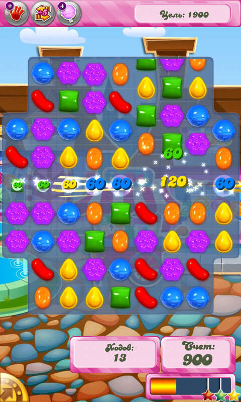Candy Crush Saga Скриншот 1