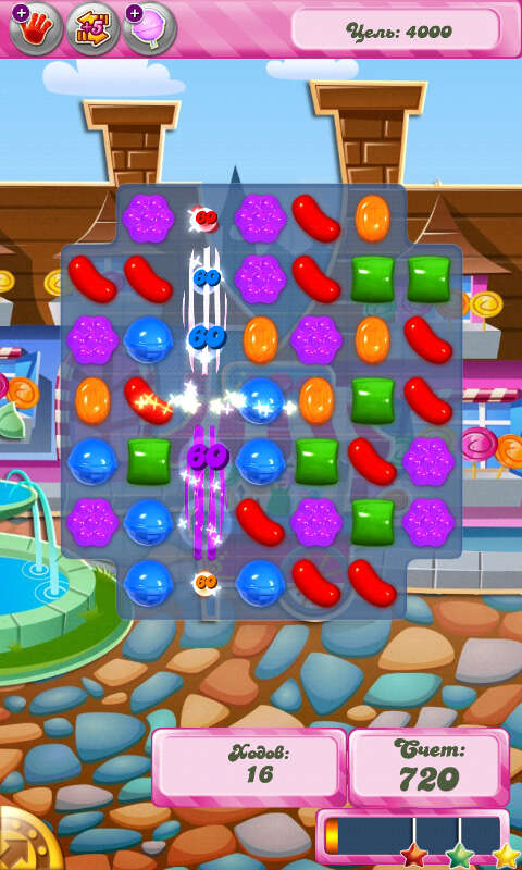 Candy Crush Saga Скриншот 2