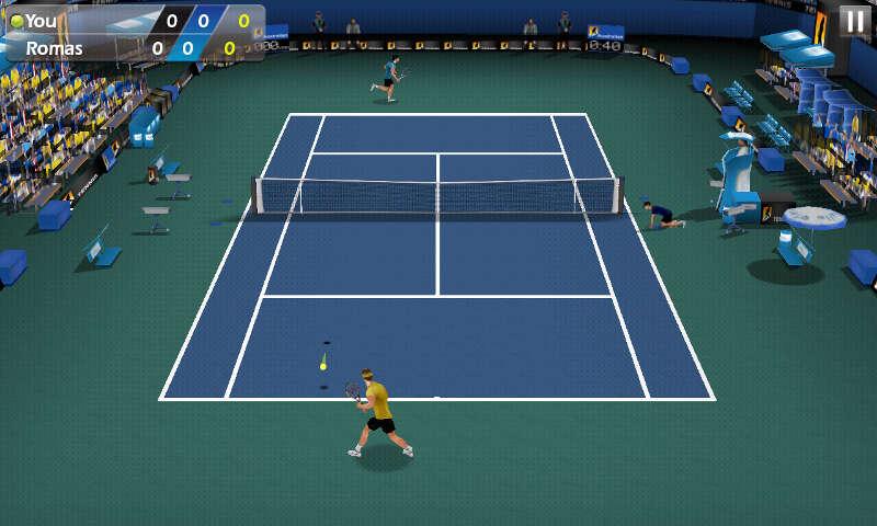 Теннис пальцем 3D