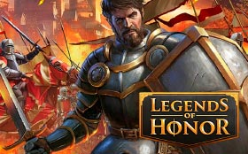 игра Legends of Honor на Андроид