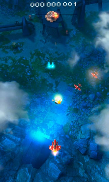 Sky Force Reloaded Screen 1