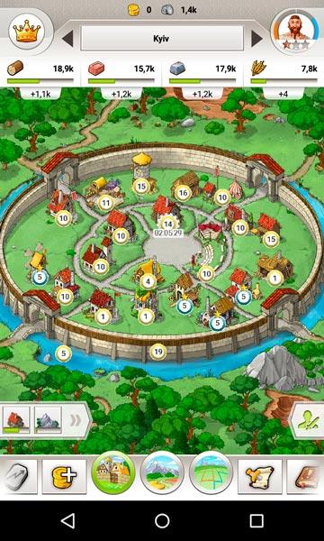travian kingdoms screen 1