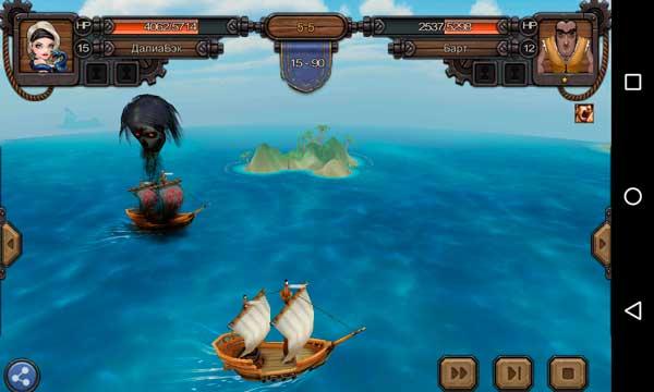 Rage of the Seven Seas Screen 2