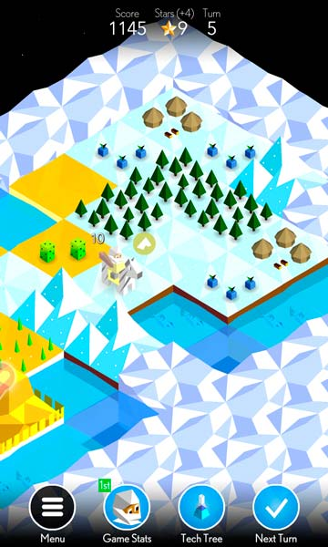 The Battle of Polytopia Screen 3
